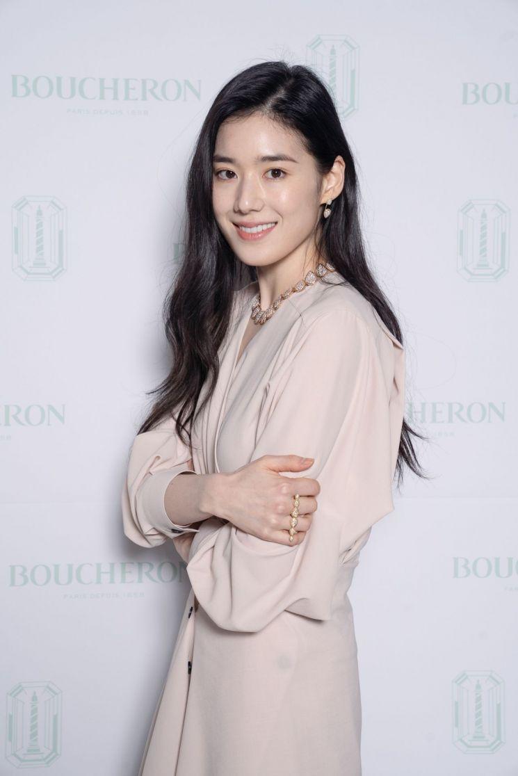 부쉐론의 앰베서더, 배우 정은채. 사진=부쉐론
