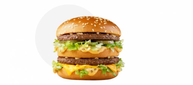 맥도날드 빅맥. 사진=맥도날드 홈페이지