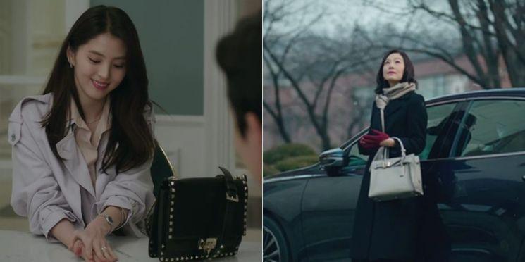 부부의세계 백 스타일링, 여다경 vs 지선우! 사진=JTBC '부부의 세계' 화면
