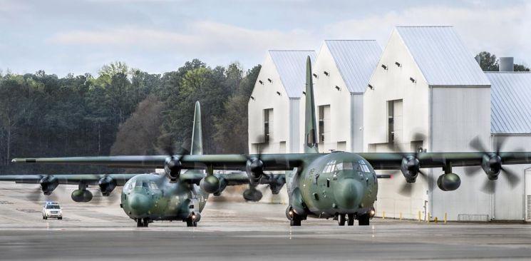 록히드마틴사의  C-130
