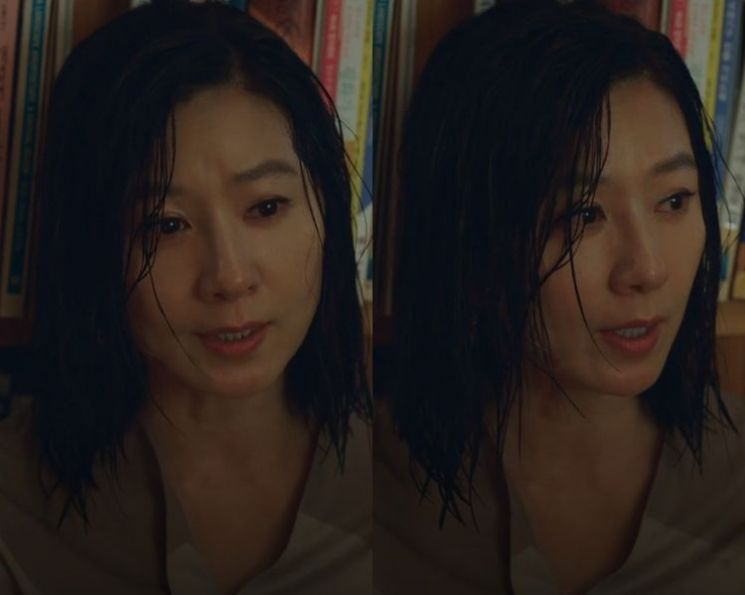 배우 김희애. 사진=JTBC '부부의 세계' 방송 화면