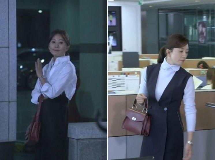 SBS 드라마 '끝에서 두 번째 사랑' 속 오피스룩. 사진=SBS '끝에서 두 번째 사랑' 화면