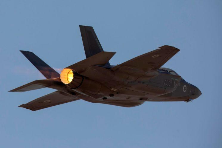 이스라엘 공군의 F-35 전투기 [이미지출처=로이터연합뉴스]
