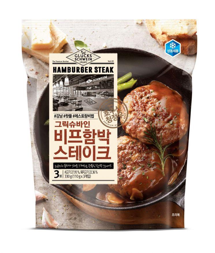 삼립잇츠 비프함박 스테이크