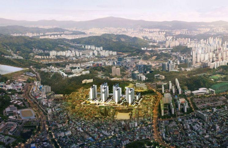 경기 수원시 장안구 '서광교 파크 스위첸' 조감도 (제공=KCC건설)
