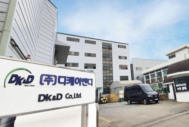 디케이앤디 안산공장 전경.