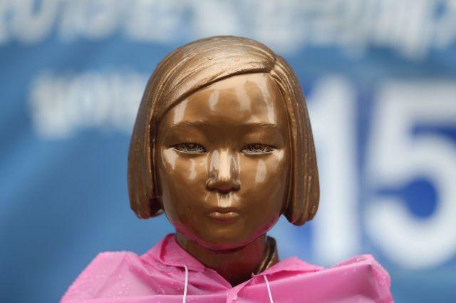 종로구 주한일본대사관 앞 평화의 소녀상. [이미지출처=연합뉴스]