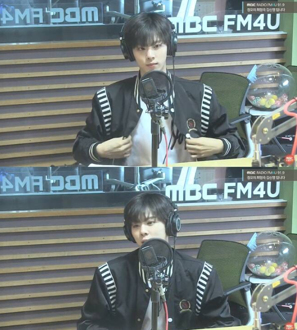 26일 방송된 MBC 라디오 FM4U '정오의 희망곡 김신영입니다'에는 그룹 업텐션 멤버 김우석이 출연해 개그맨 이경규 라인에 입성하게 된 이유를 밝혔다./사진=MBC 보이는 라디오 캡쳐