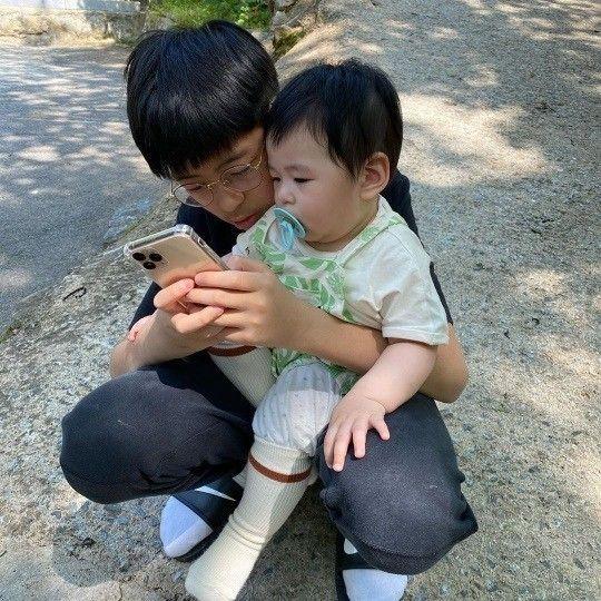 배우 장신영이 26일 자신의 인스타그램을 통해 공개한 사진/사진=장신영 인스타그램 캡처