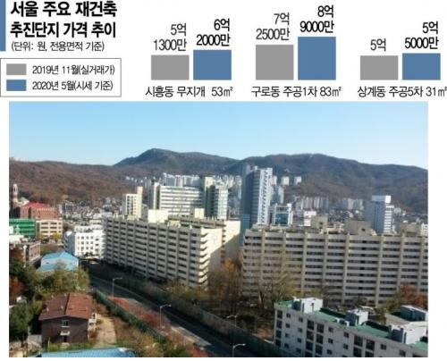 노·도·강·금·관·구 '서울 중저가 재건축'이 뛴다