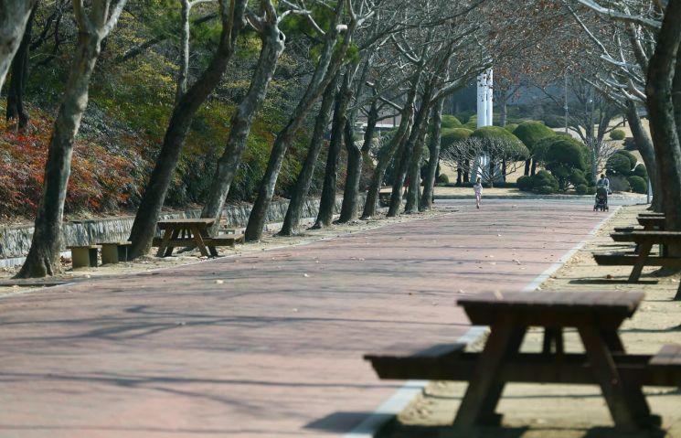 지난 3월 경북대학교 캠퍼스의 한산한 모습.