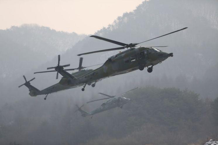 UH-60P 블랙호크 기동헬기