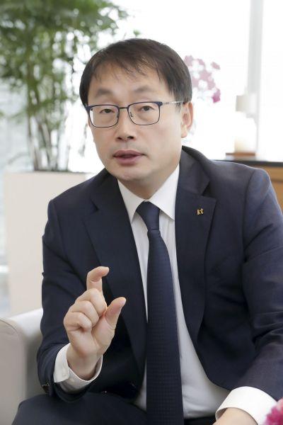 구현모 KT 대표[사진=KT 제공]