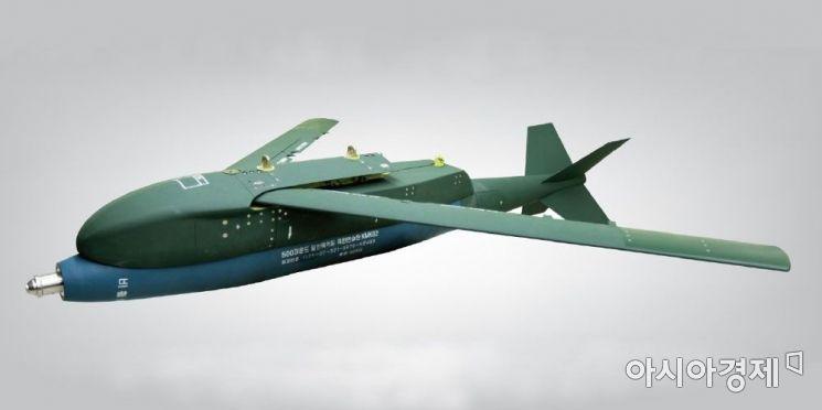 LIG넥스원이 개발한 '한국형 GPS 유도폭탄(KGGB)'