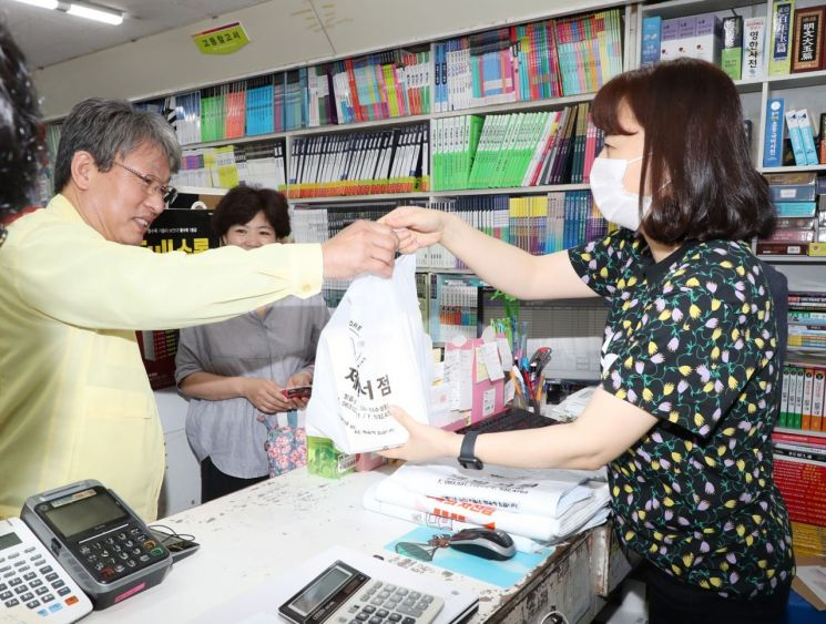 유진섭 시장, 코로나19 극복 지역 상점가 살리기 '앞장'