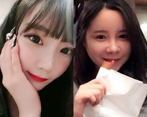 BJ 한미모(왼쪽)와 배우 변수미. /사진=인스타그램 캡처