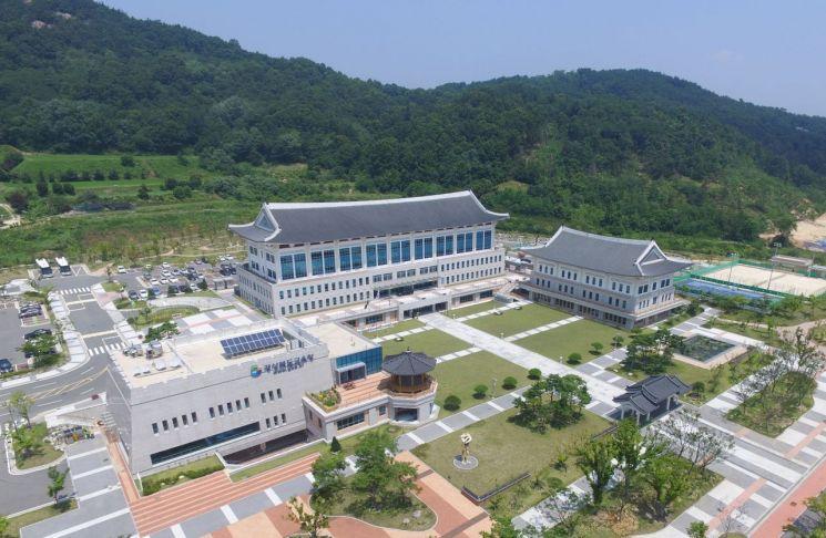 경북도교육청 전경.