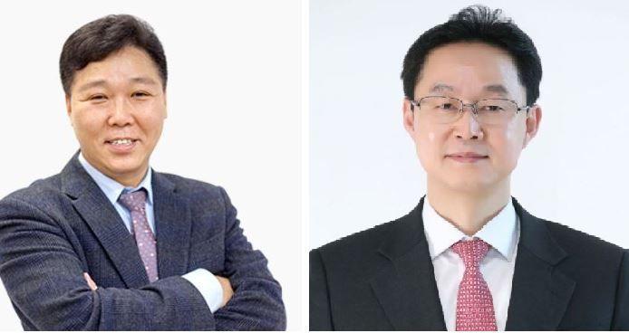 (왼쪽부터) 박종진 KT엠모바일 대표, 김철수 KT스카이라이프  대표