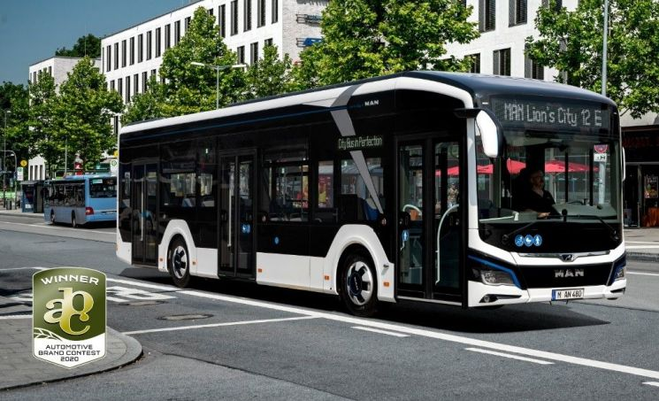 만트럭버스, 차세대 전기버스 상용차 디자인상 수상
