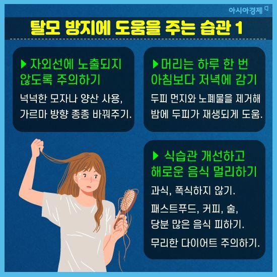 [카드뉴스] 탈모, 유전자 탓만 한 채 방치한다고?