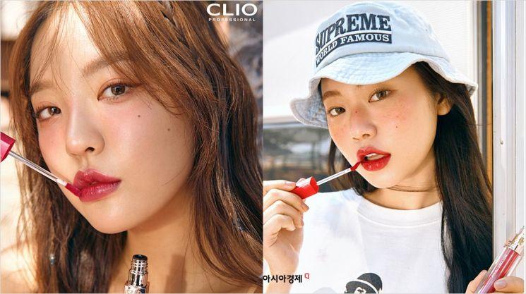 '클리오'가 맑은 물광 발색을 선사하는 '멜팅 듀이 틴트' 10종을 출시했다.
