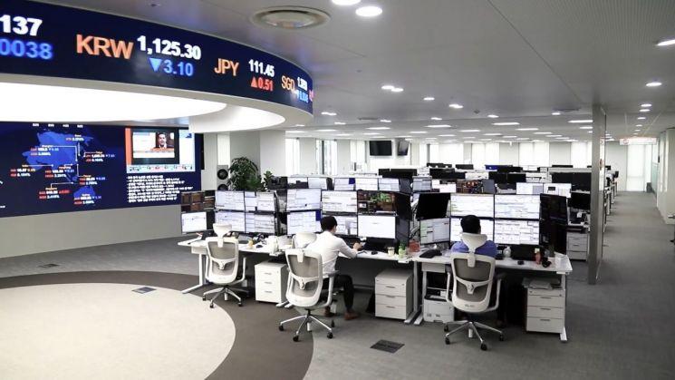 ITS컨버전스가 선보인 통합 딜링룸 솔루션과 서비스는 금융사 딜링룸의 풍경을 새롭게 바꿨다. 사진 = ITS컨버전스
