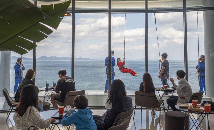 보물섬전망대 카페