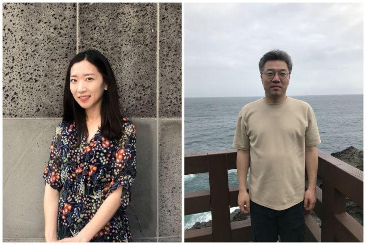 김지선 작가(왼쪽)와 김희연 작가  [사진= 서울연극협회 제공]