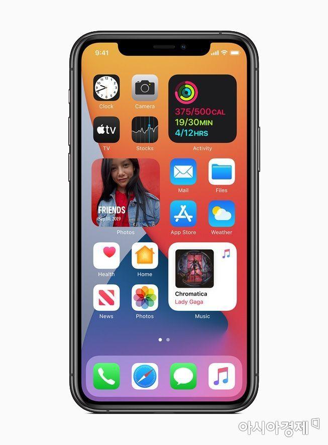 아이폰 홈화면 위젯으로 꾸며볼까…iOS 14 어떻게 바뀌었나