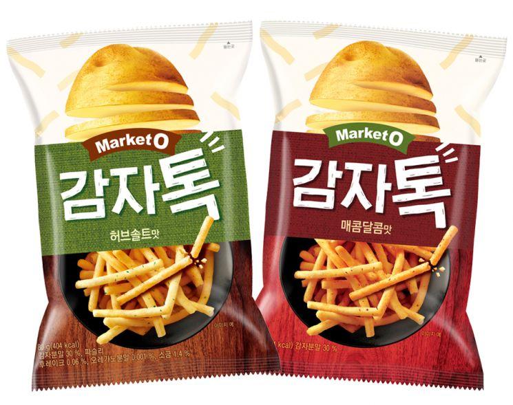 오리온 '마켓오 감자톡', 출시 한 달 만에 150만봉 넘게 팔렸다