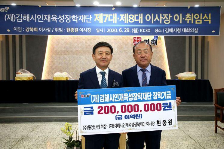 """[신년인터뷰]허성곤 김해시장, """"흔들림 없이 시민 행복만 바라보고 이끌겠다"""""""