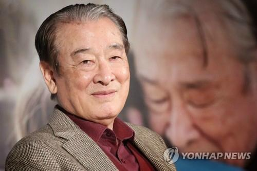 원로배우 이순재(85) [이미지출처=연합뉴스]