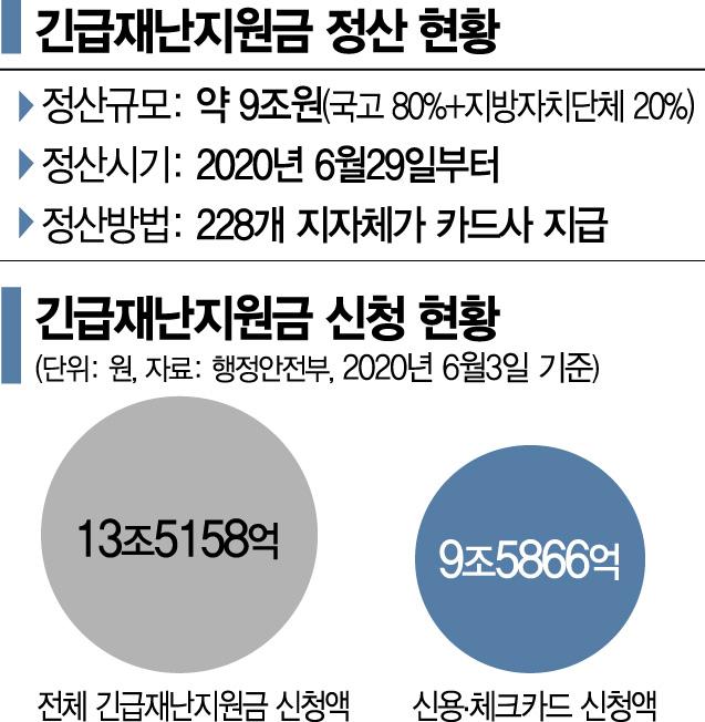 9兆 재난지원금 정산 시작…카드사, 지연 우려에 '촉각'
