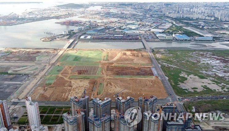 아암물류단지 전경 [사진=연합뉴스]