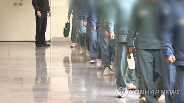 교도소 수감자 [이미지출처=연합뉴스]