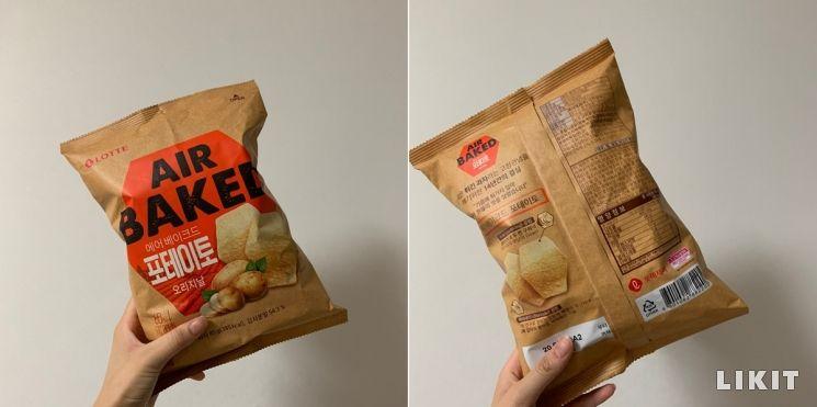 제니의 감자칩, 롯데 '에어베이크드'