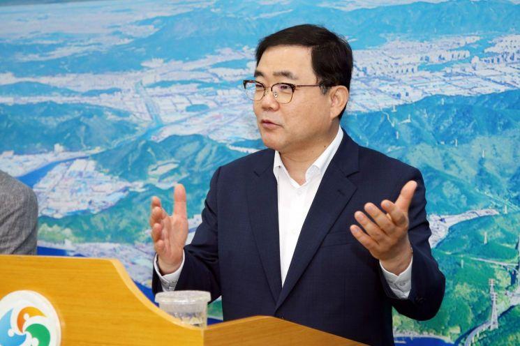 허성무 창원시장, 택배노동자 권익보호 나서