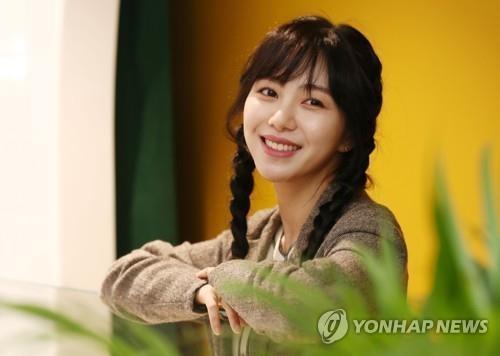 아이돌그룹 AOA 출신 배우 권민아. [이미지출처=연합뉴스]