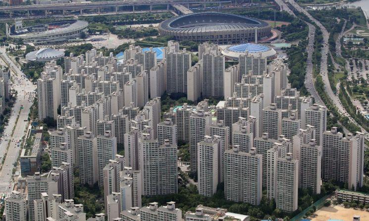 서울 소재 아파트 단지 전경. [이미지출처=연합뉴스]