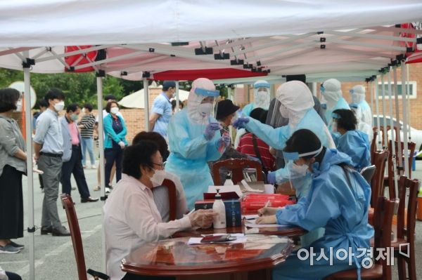 광주서 5일 만에 코로나 지역감염 확진자 발생…누적 209명