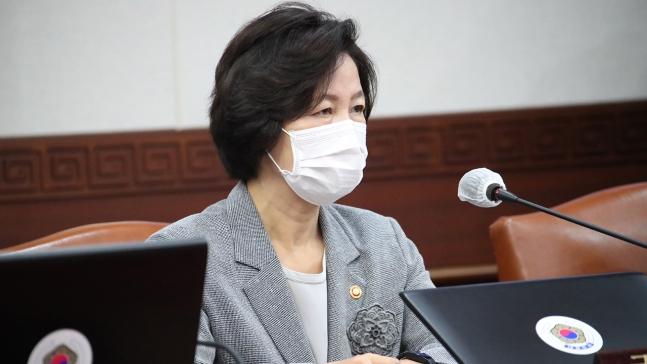 추미애 법무부 장관.사진=연합뉴스