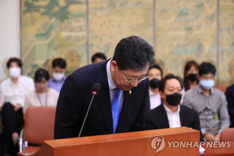 박양우 문화체육부 장관