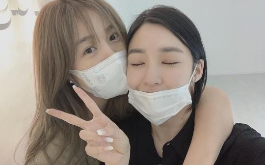 그룹 핑클 출신 옥주현이 소녀시대 멤버 티파니 영에 대한 애정을 드러냈다. 사진=옥주현 인스타그램 캡처.