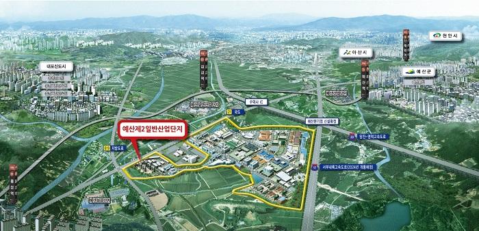 충남혁신도시 내포신도시 바로 옆 명품산업단지 '예산제2일반산업단지'주목