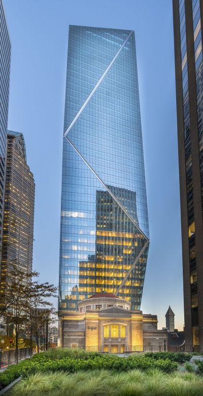 롯데호텔이 오는 9월 오픈 예정인 시애틀 다운타운 내 '롯데호텔 시애틀'. 작년 12월 미국계 사모펀드 '스탁브릿지'로부터 인수했다.