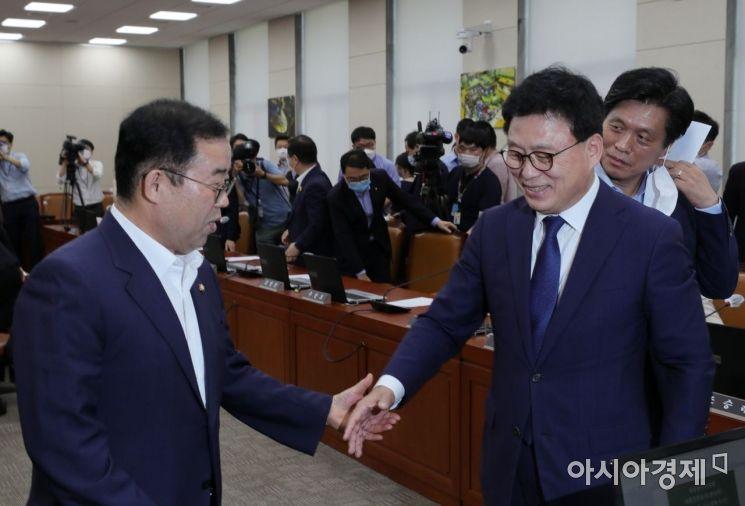 [포토] 국회 복귀한 미래통합당