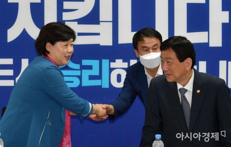 [포토] 행안위 첫 당정협의