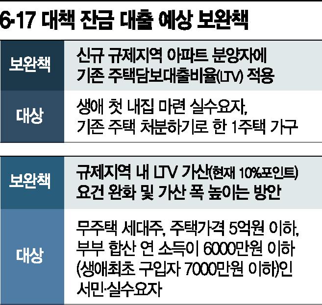 규제지역 편입 아파트 잔금대출 '기존 LTV 적용' 예외조항 검토중