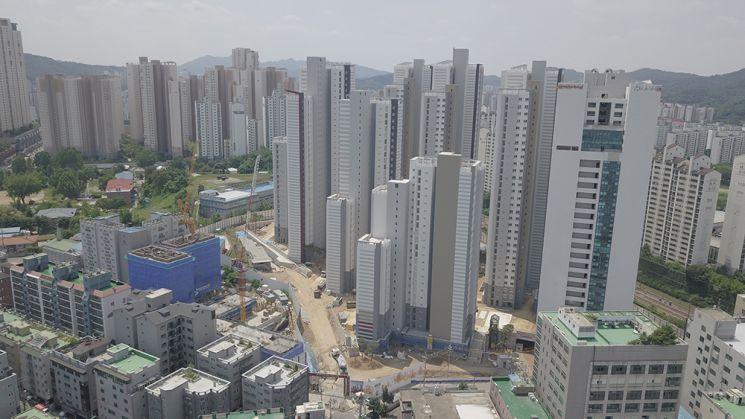 ▲ 독산역 보세쥬르 오피스텔은 서울시 금천구 독산동 일대에 조성 중이다.