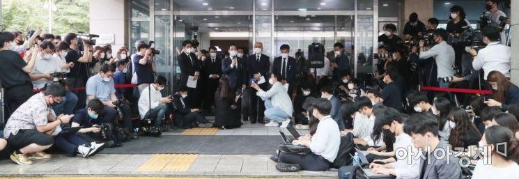 [포토] 취재진에게 공개되는 박원순 시장 유언장